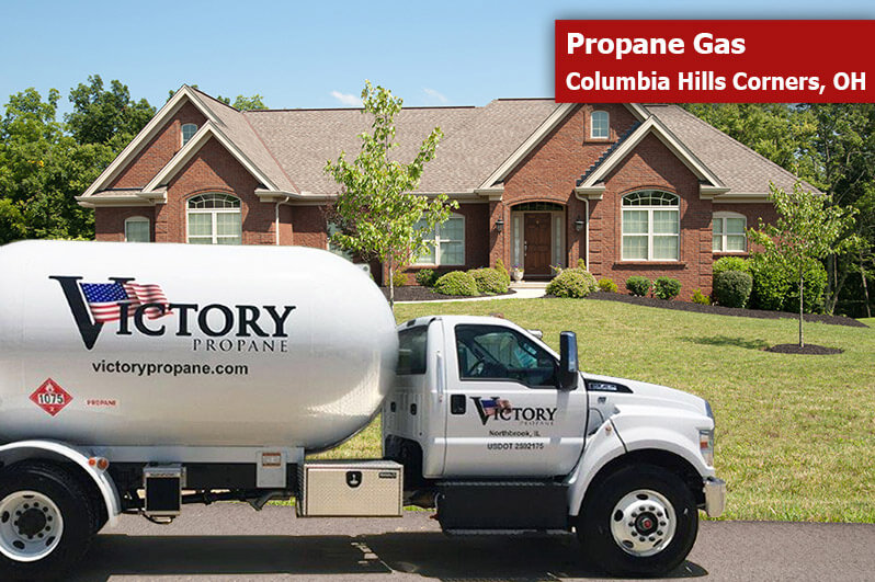 Propane Gas Columbia Hills Corners, OH by Victory Propane
